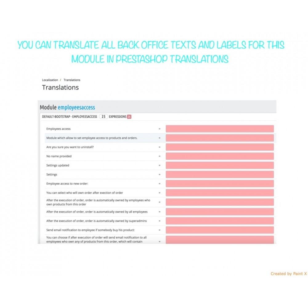 module - Gestione Ordini - Dipendenti come proprietari dei prodotti e degli ordini - 8