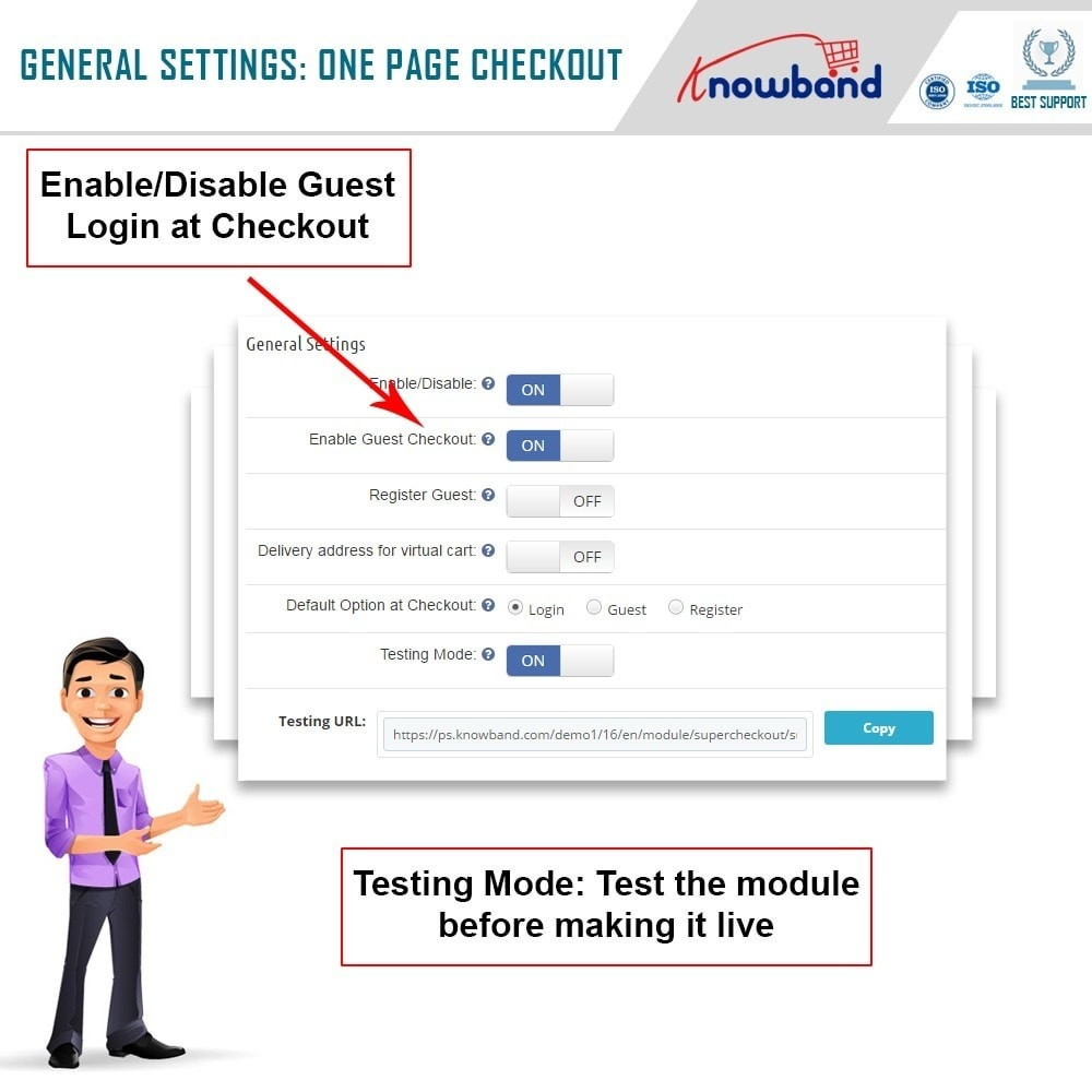 module - Express Checkout - Knowband - One Page Checkout, Social Login & Mailchimp - 13