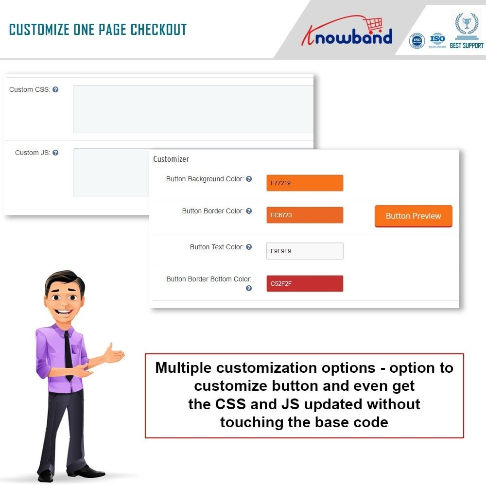 module - Express Checkout Process - Knowband - One Page Checkout, Social Login & Mailchimp - 14