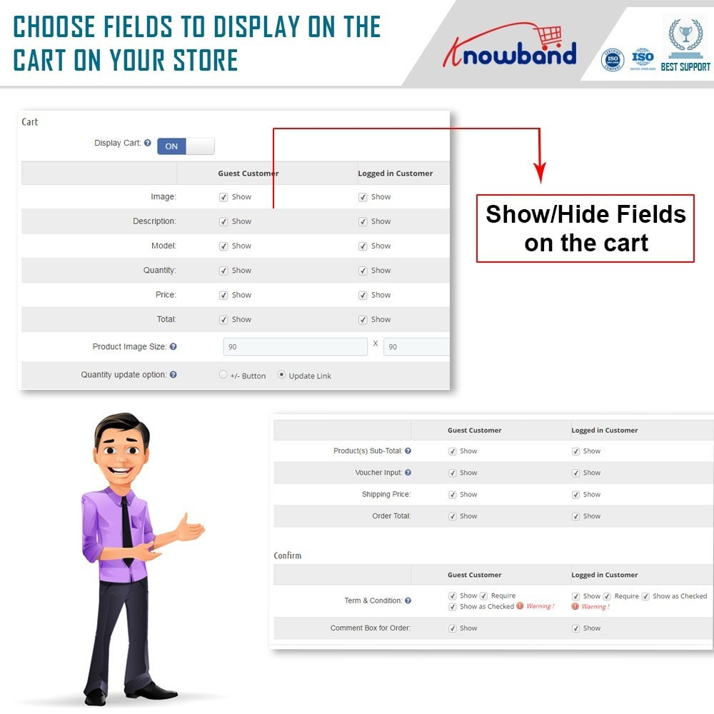 module - Bestelproces - Knowband - One Page Checkout, Social Login & Mailchimp - 19