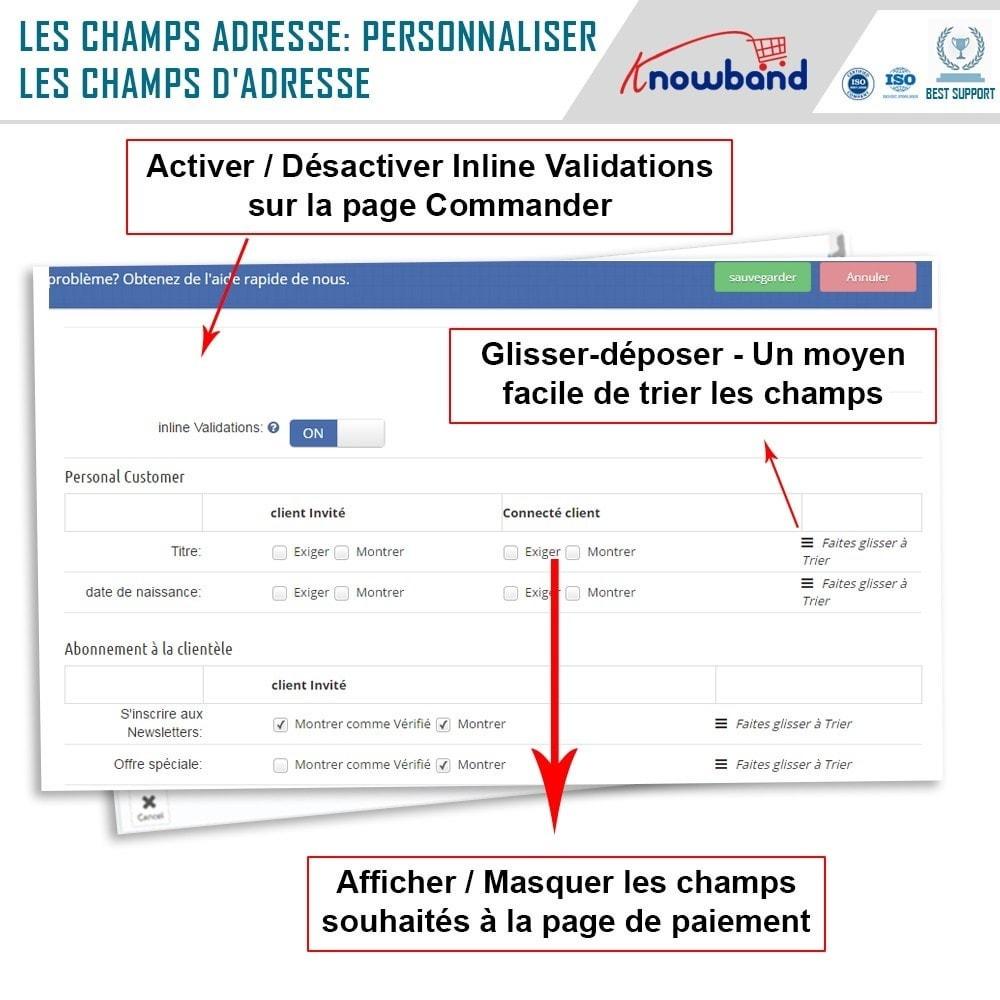 module - Processus rapide de commande - One Page Checkout, Social Login & Mailchimp - 16