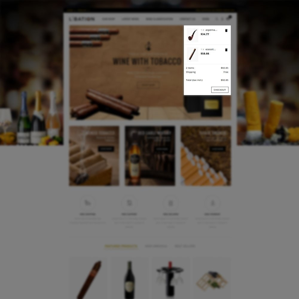 theme - Drink & Tobacco - Libation Wine Store - 7