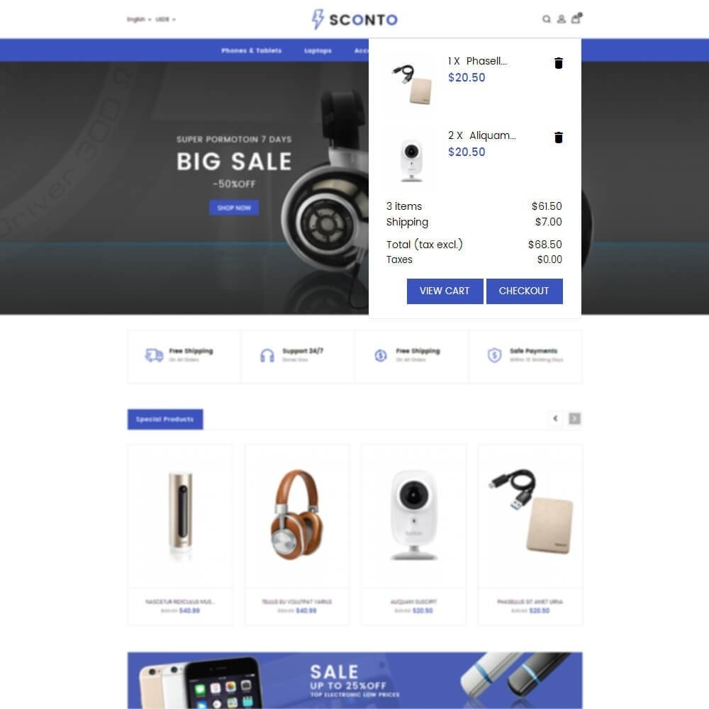theme - Electronique & High Tech - Sconto electronics - 7