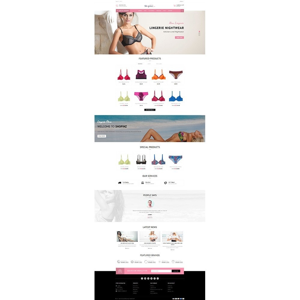 theme - Mode & Chaussures - Lingerie Store - 2