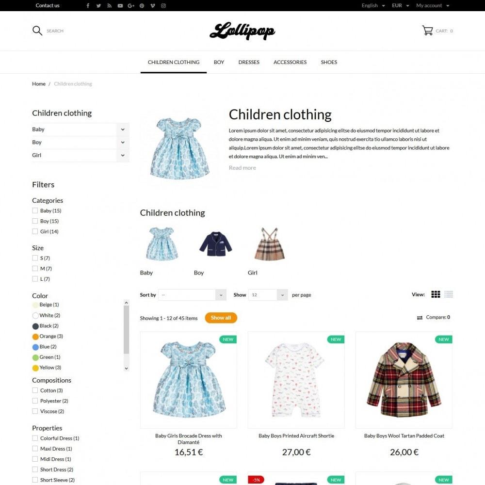 theme - Niños y Juguetes - Lollipop - 5