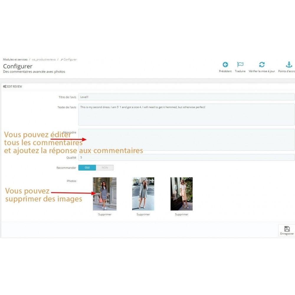 module - Avis clients - Commentaires avancés avec photos + Google rich snippets - 13
