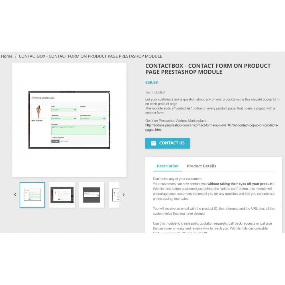 module - Formulaires de Contact & Sondages - ContactBox - formulaire de contact personnalisable - 5