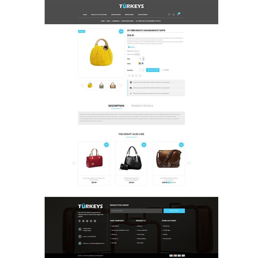 theme - Moda & Calzature - Turkeys Bag Store - 5