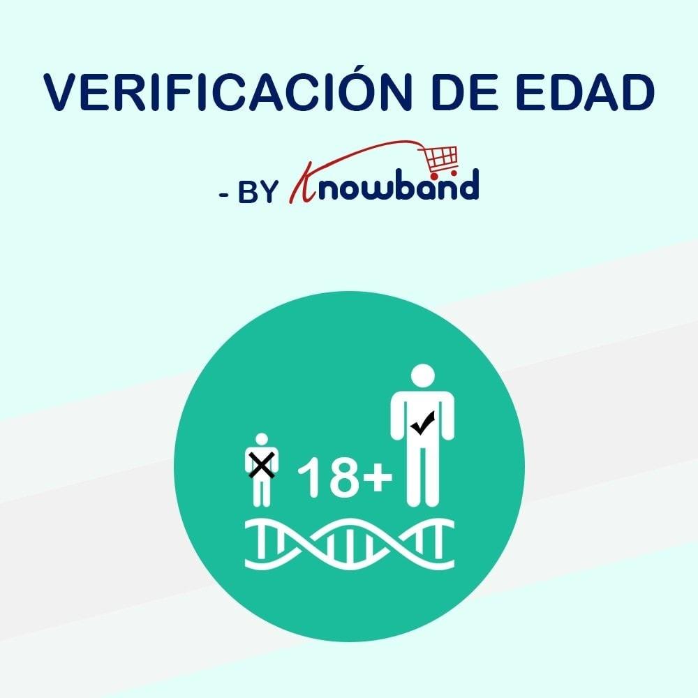 module - Seguridad y Accesos - Verificación de Edad(Age Verification) - 1