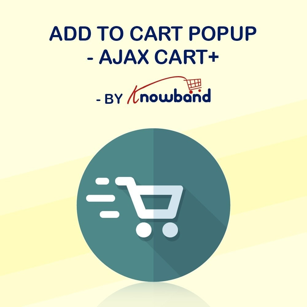 module - Всплывающие окна pop-in и pop-up - Knowband - Add to cart popup - Ajax Cart+ - 1