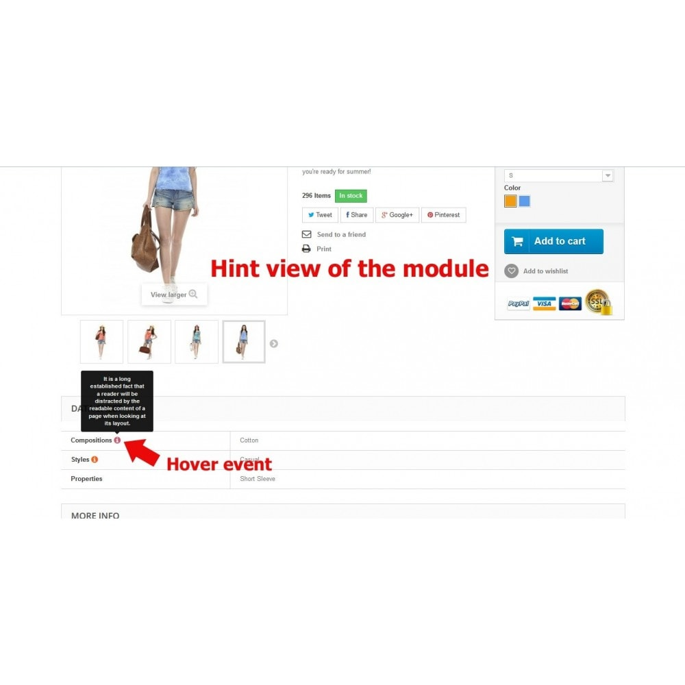 module - Product Page - Tooltips of features in product page - 8