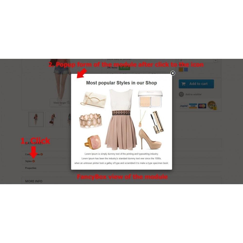 module - Страница продукта - Подсказки для свойств на странице товара - 7