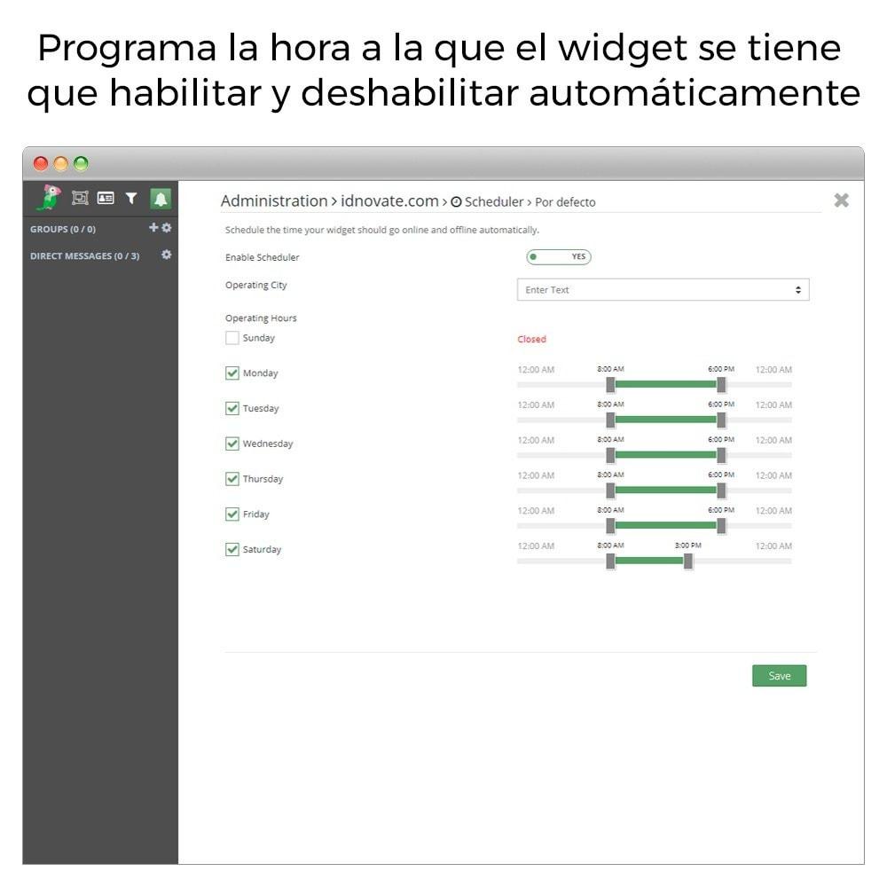 module - Asistencia & Chat online - Tawk.to - Chat integrado en tiempo real - Multilenguaje - 8