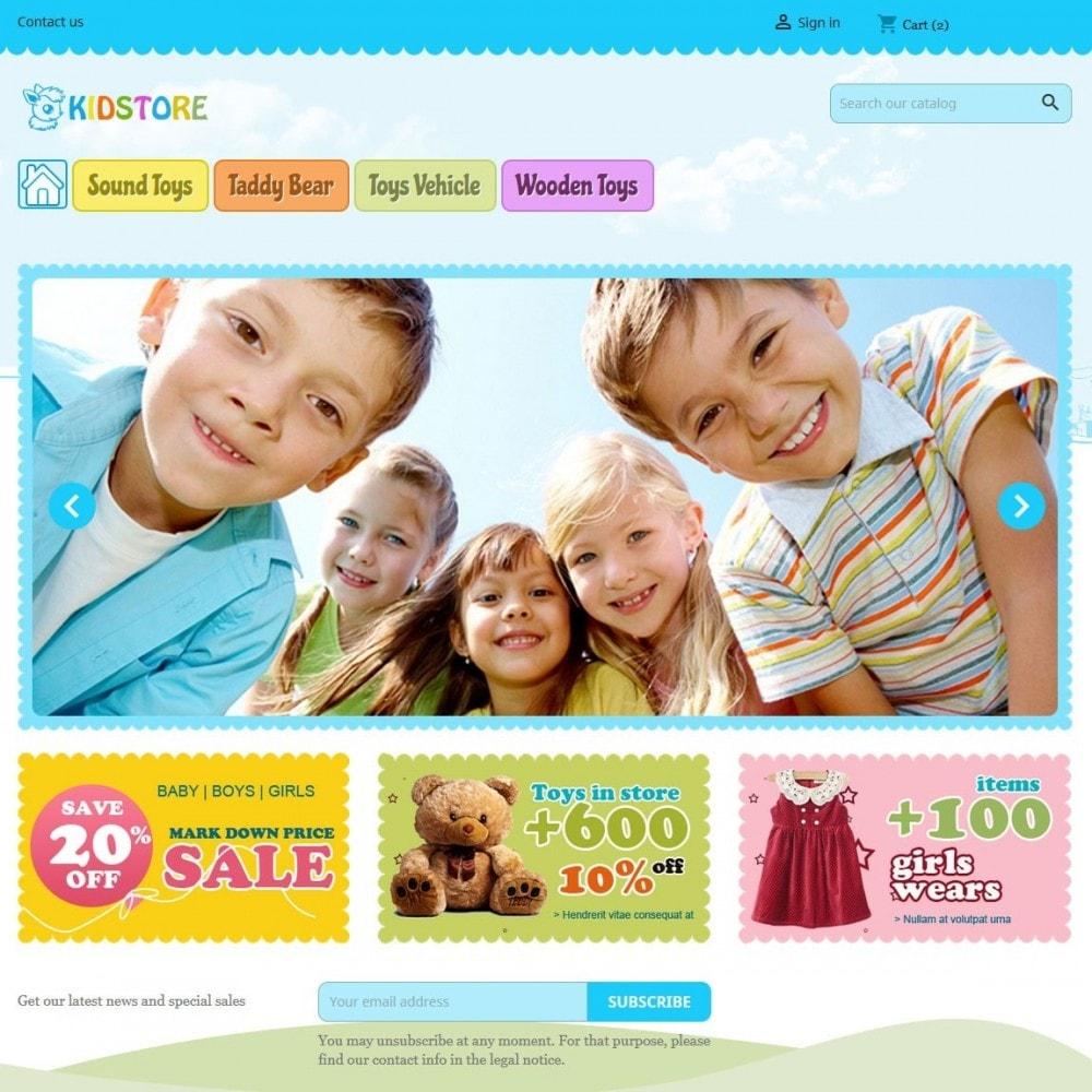 theme - Дети и Игрушки - Kidstore 4 - 1