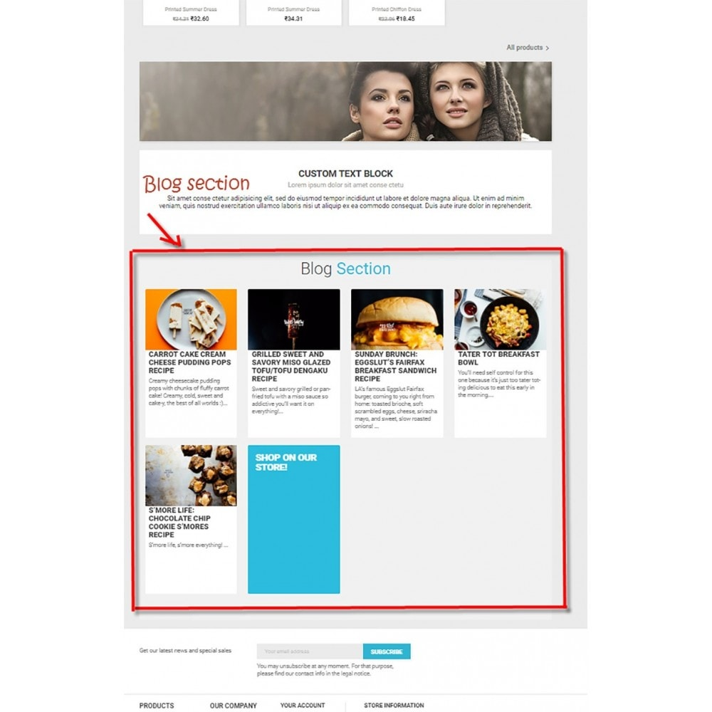 module - Blog, Foro y Noticias - Advance Blog Powerful Seo - 13