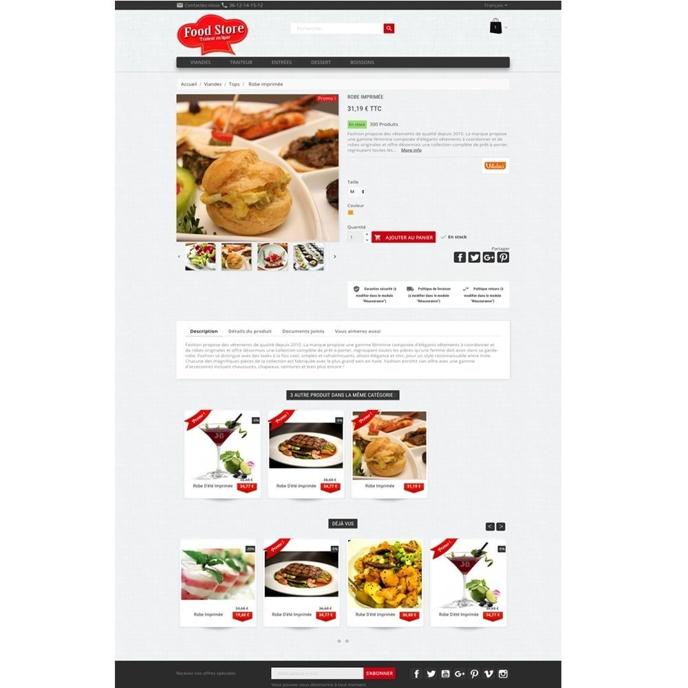 theme - Food & Restaurant - Foodstore - 3