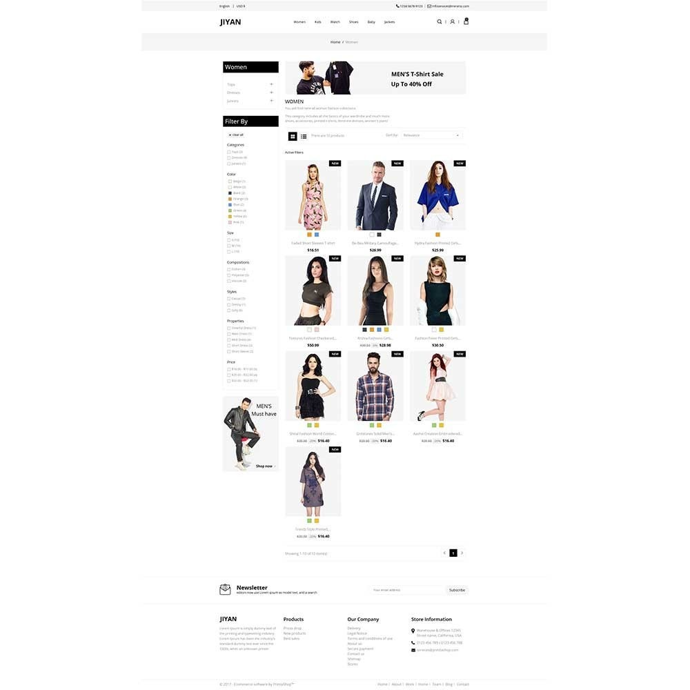 theme - Mode & Schoenen - Jiyan - Fashion Store - 3