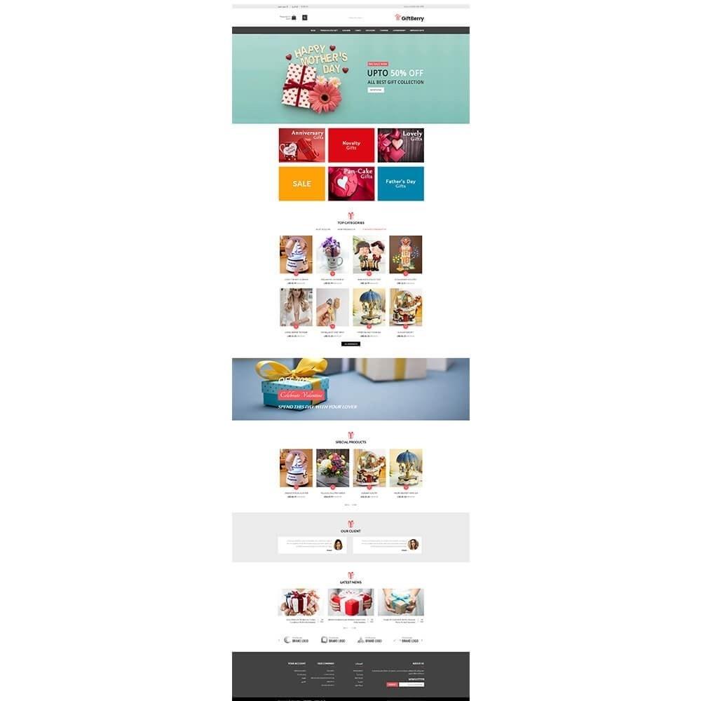 theme - Подарки, Цветы и праздничные товары - Gift berry - 6