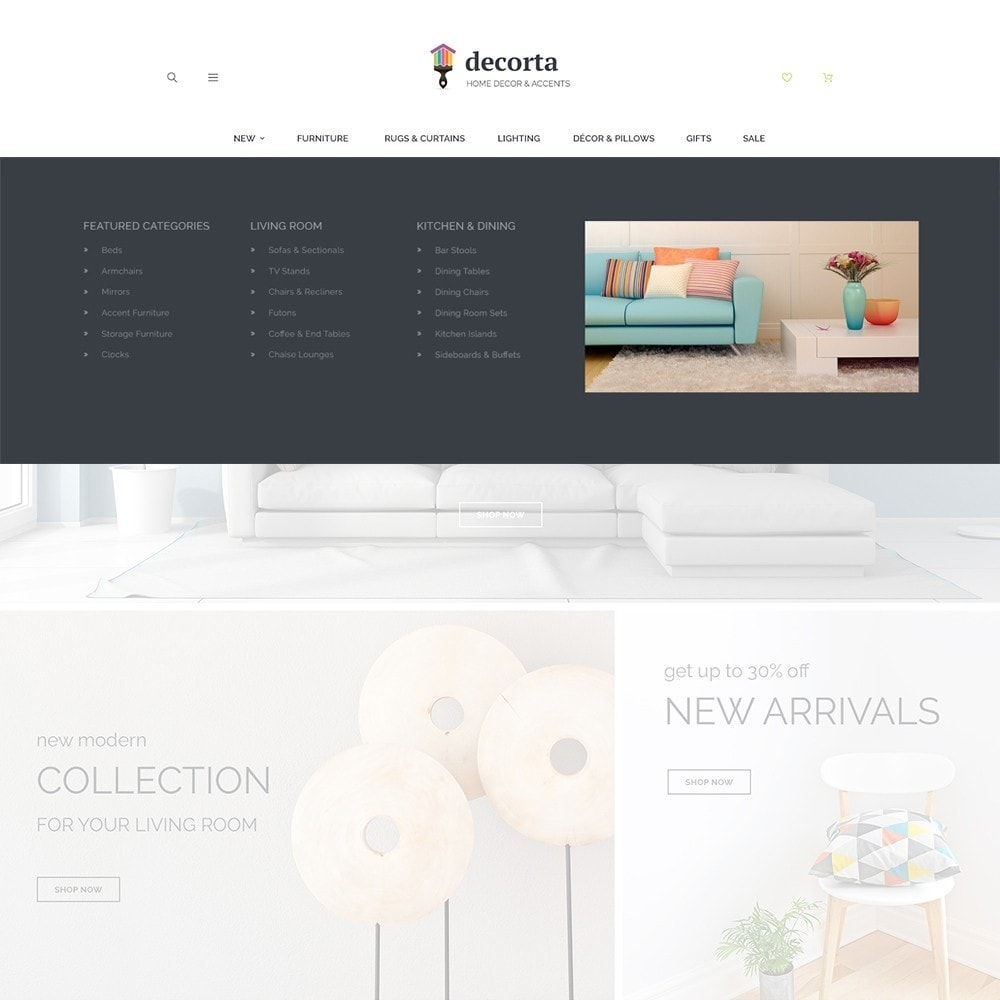 theme - Casa & Jardins - Decorta PrestaShop Theme - 2