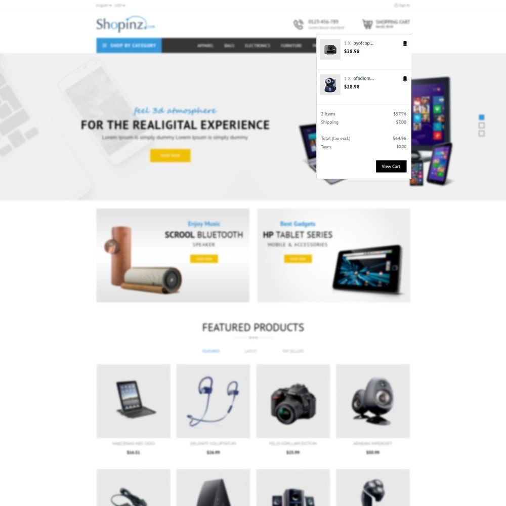 theme - Electronique & High Tech - Electronic Store - 8