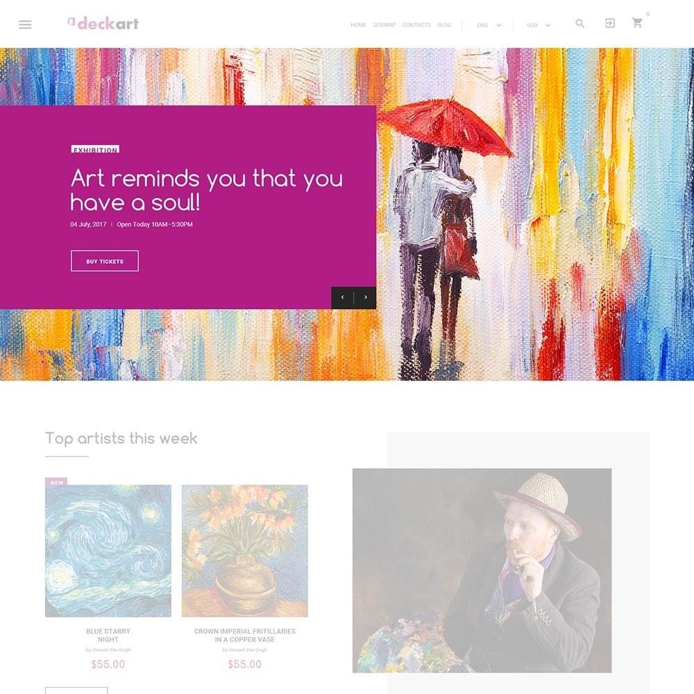 theme - Art & Culture - DeckArt - Responsive Theme - 6