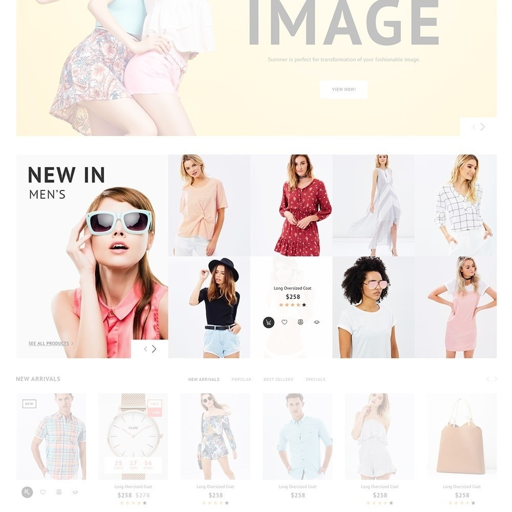 theme - Moda & Calzature - Impresta Fashion - PrestaShop Responsive Theme - 4