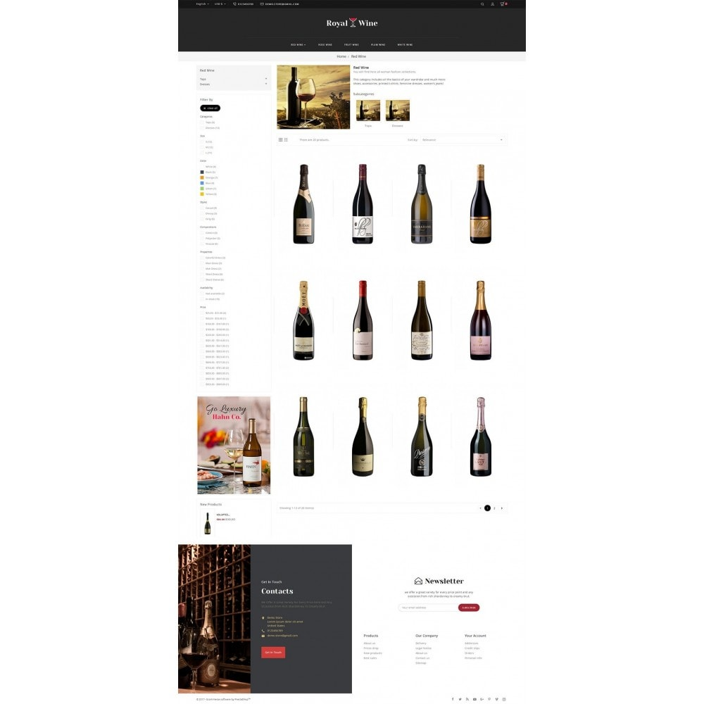 theme - Drink & Wine - Royal Wine - 3