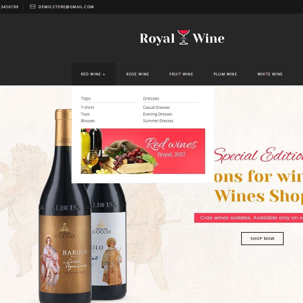 theme - Drink & Wine - Royal Wine - 8
