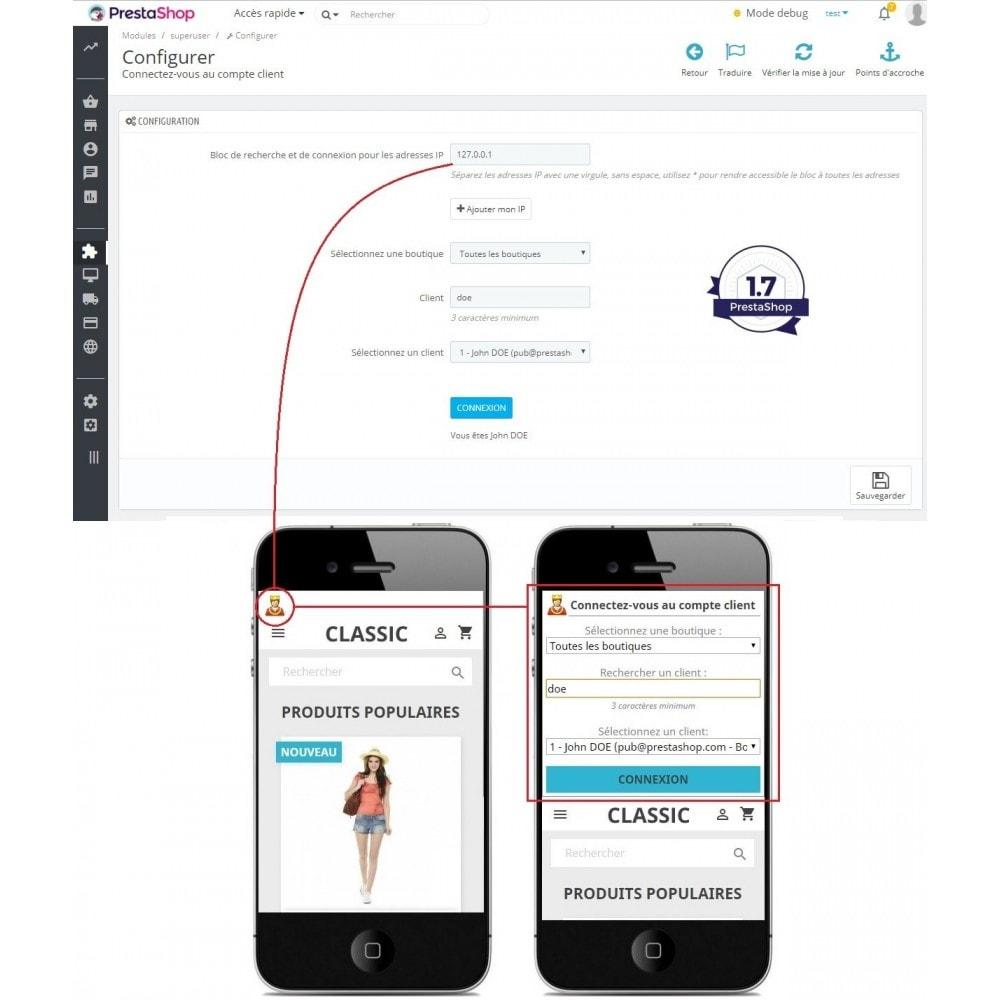module - Service Client - Connexion au compte client sans mot de passe - 3