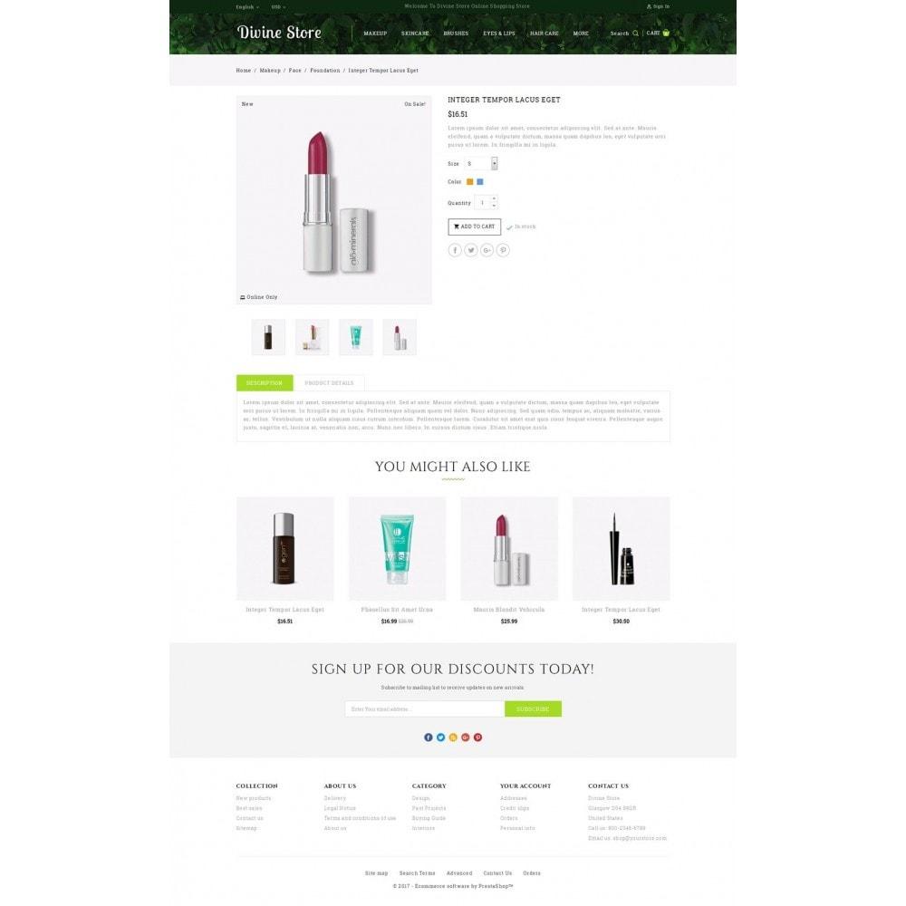 theme - Health & Beauty - Divine - Beauty Store - 5