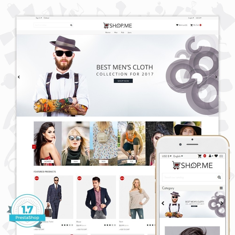 theme - Moda y Calzado - Shopme Fashion - 1