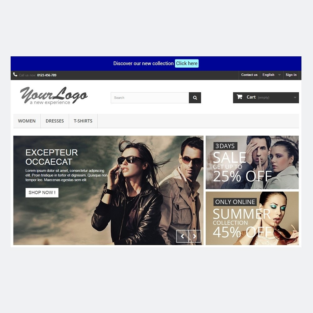 pack - Current offers – Make great savings! - Promo / Sales (Pack) : Newsletter Mailchimp + Top Banner - 10