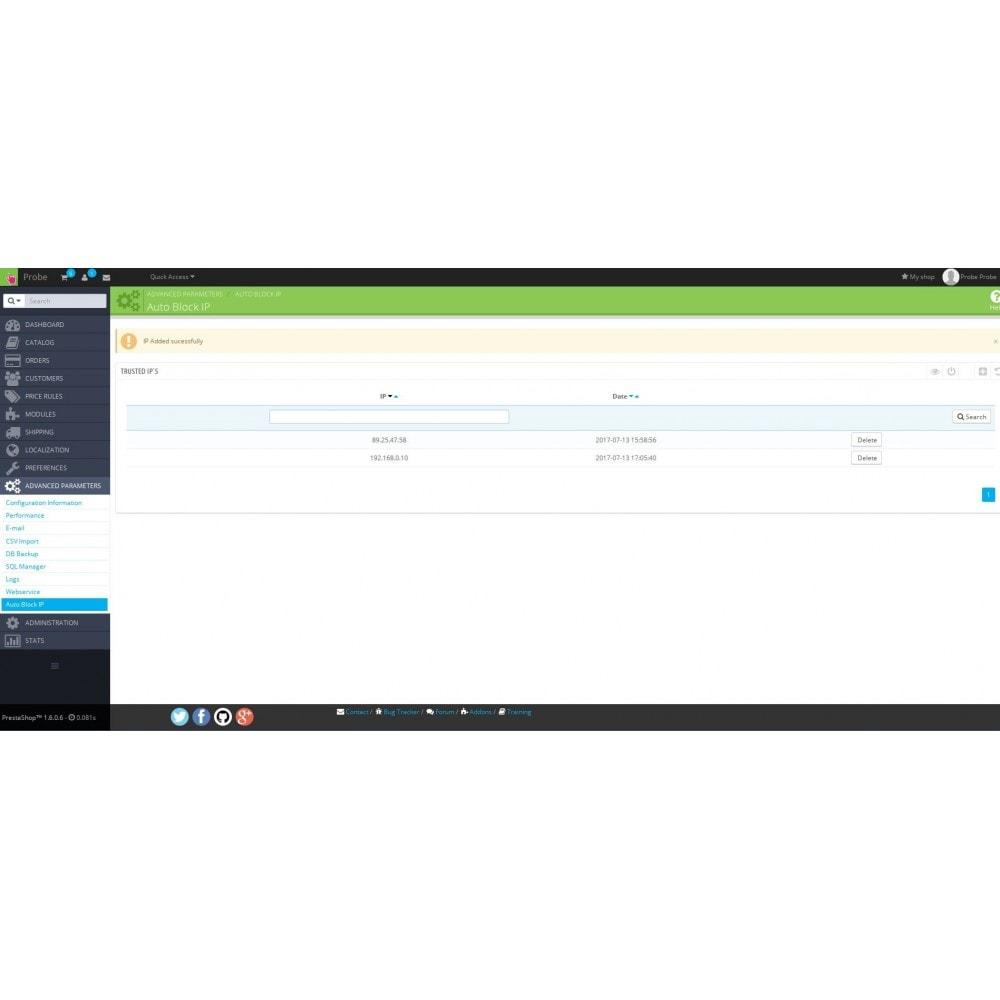 module - Seguridad y Accesos - Auto Block IP - 4