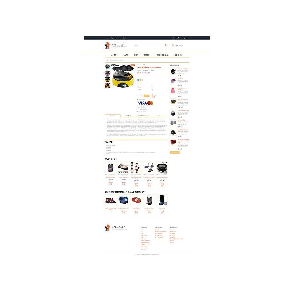 theme - PrestaShop Themen - Animally - 7
