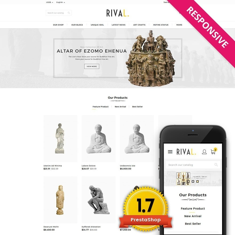 theme - Arte y Cultura - Rival Art & Craft Store - 1