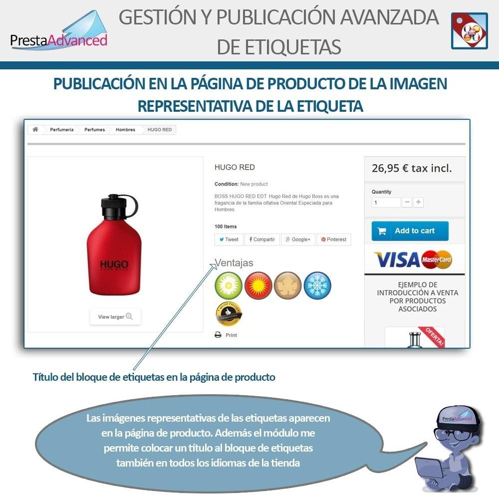 module - Etiquetas y Logos - Etiquetas: Gestión Avanzada y Publicación - 11