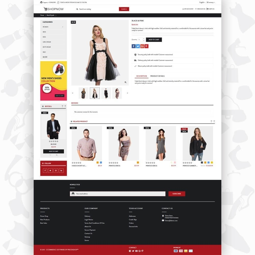 theme - Moda & Calzature - ShopNow V1 Fashion - 5