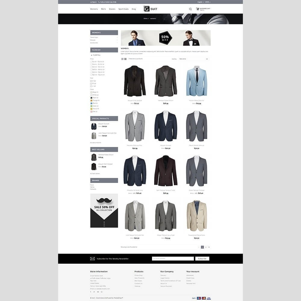 theme - Moda & Calzature - Gsuit Fashion Store - 4