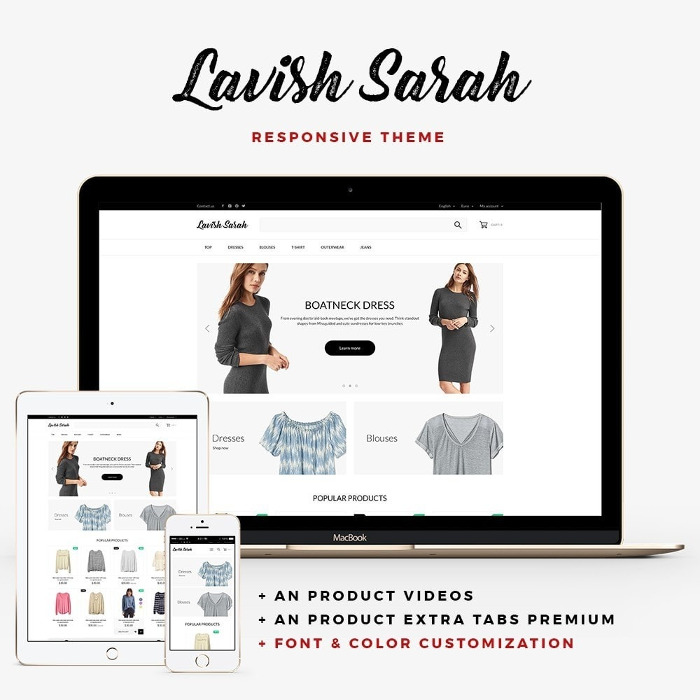 theme - Mode & Schuhe - Lavish Sarah Fashion Store - 1