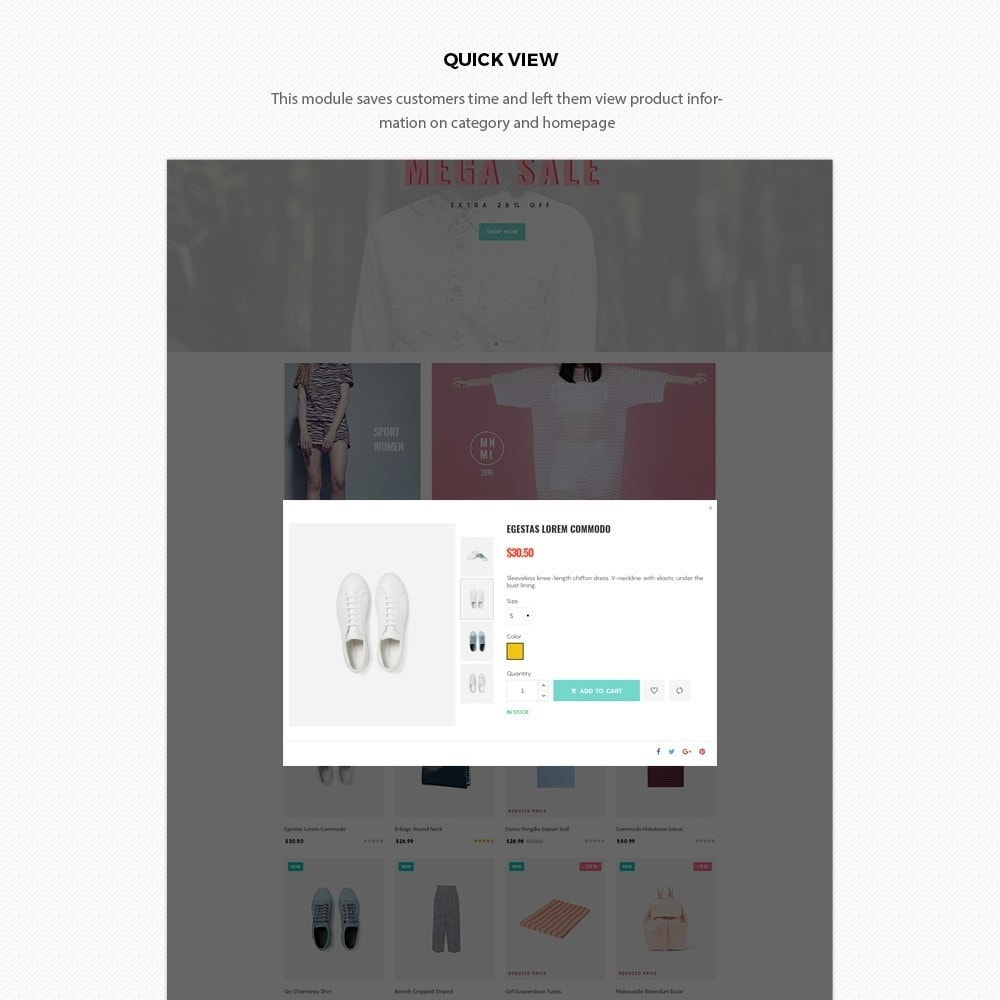 theme - Moda & Obuwie - H2 Fashion Store Responsive Multiple Prestashop Theme - 6