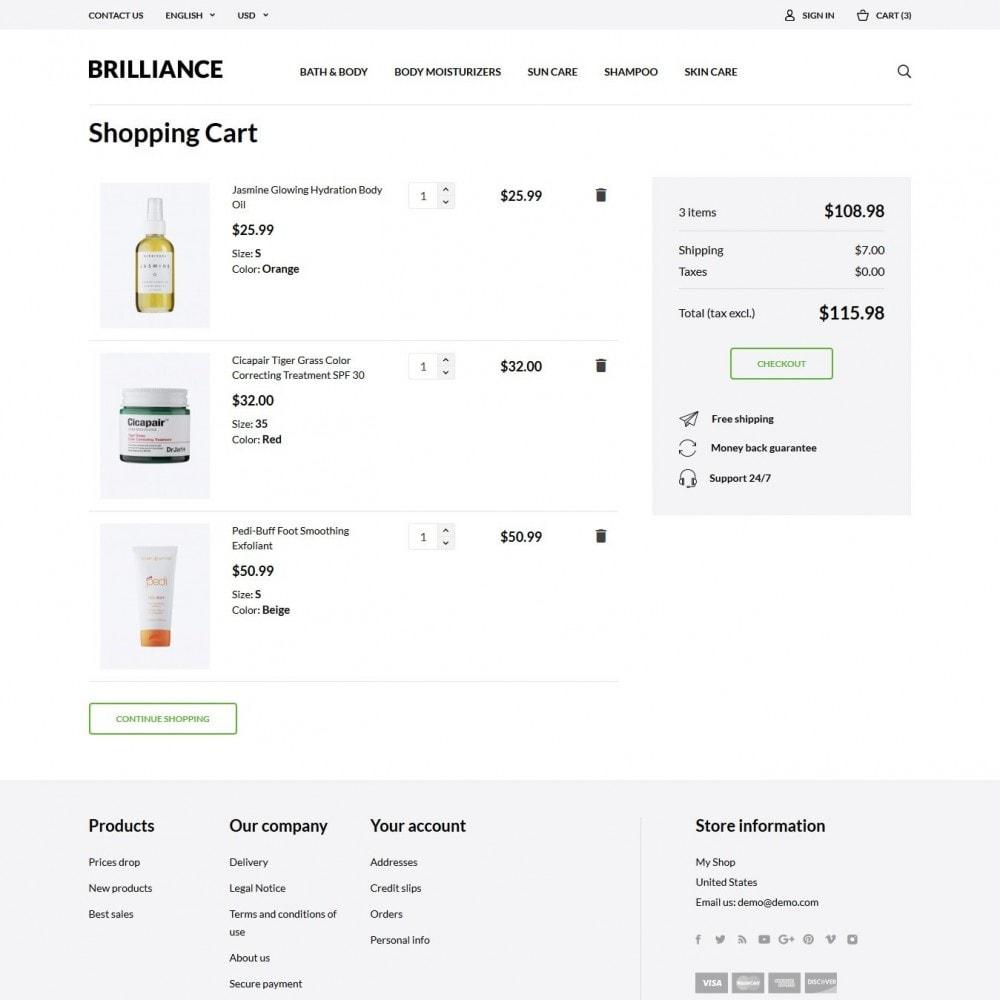 theme - Zdrowie & Uroda - Brilliance Cosmetics - 7