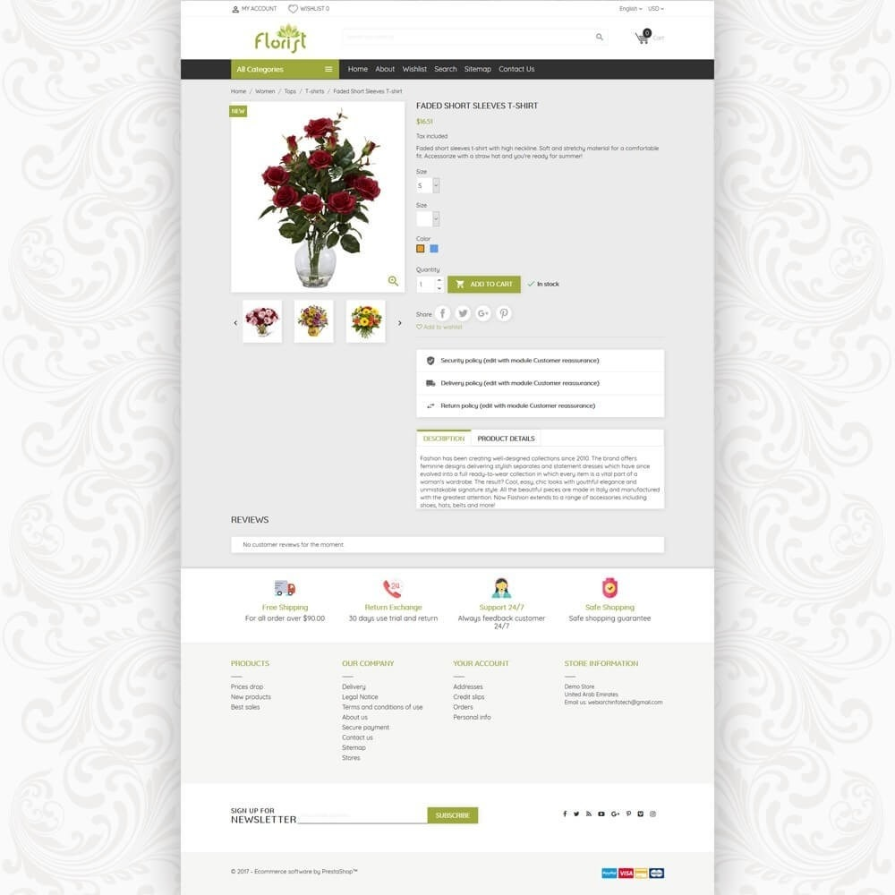 theme - Gifts, Flowers & Celebrations - Florist Flower Store - 5