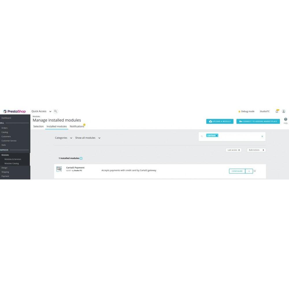 module - Paiement par Carte ou Wallet - CartaSì QuiPago XPay Keyclient Payment - 1