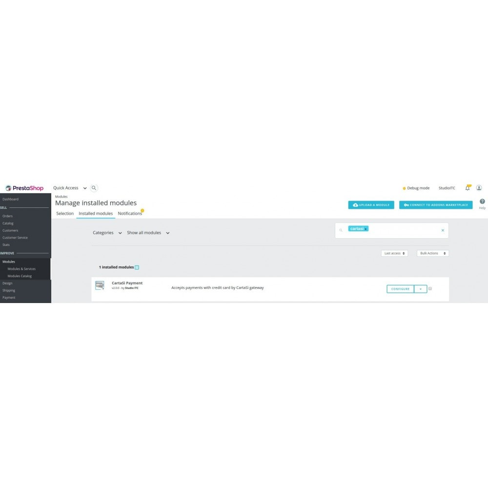 module - Zahlung per Kreditkarte oder Wallet - CartaSì QuiPago XPay Keyclient Payment - 1