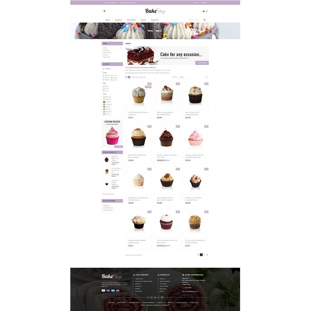 theme - Gastronomía y Restauración - Bake Shop - 3