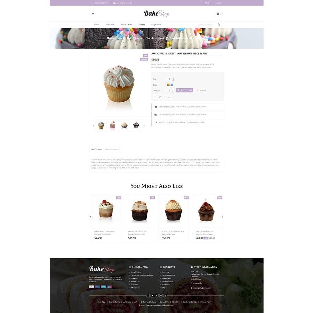 theme - Gastronomía y Restauración - Bake Shop - 5