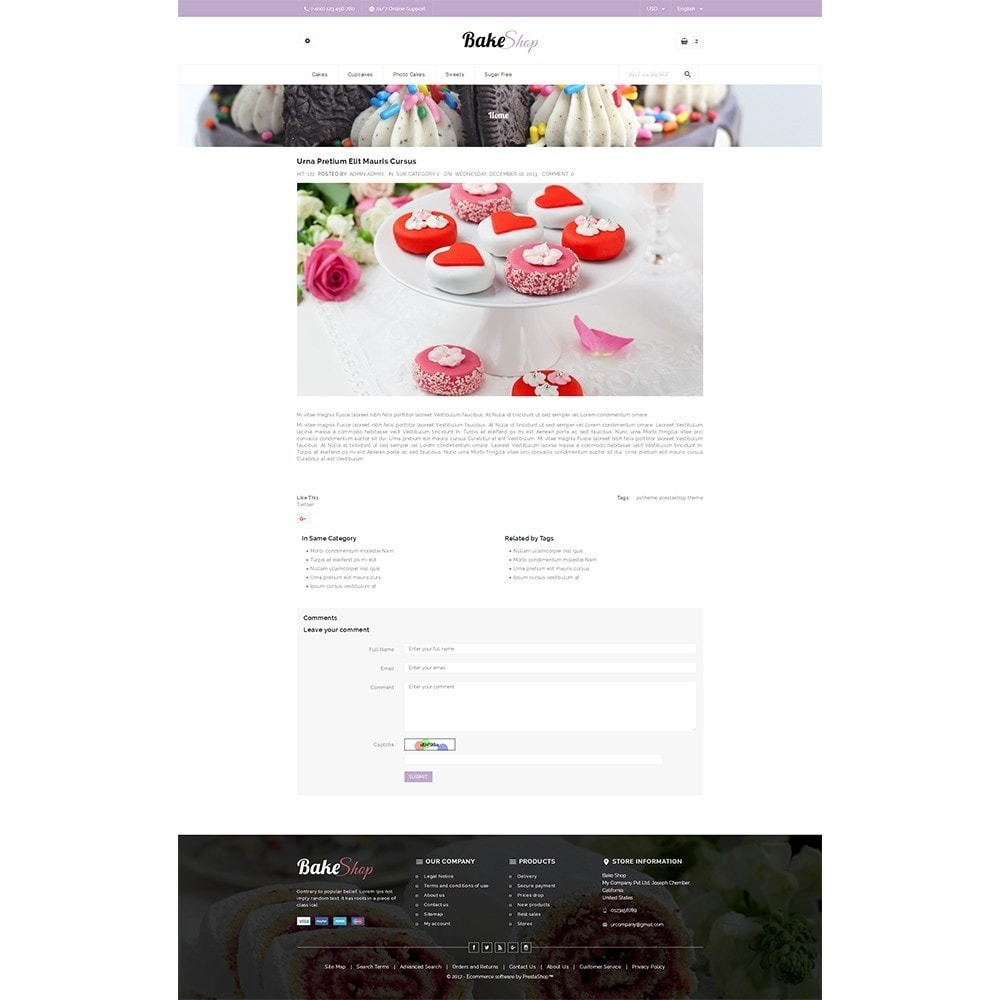 theme - Alimentation & Restauration - Bake Shop - 8