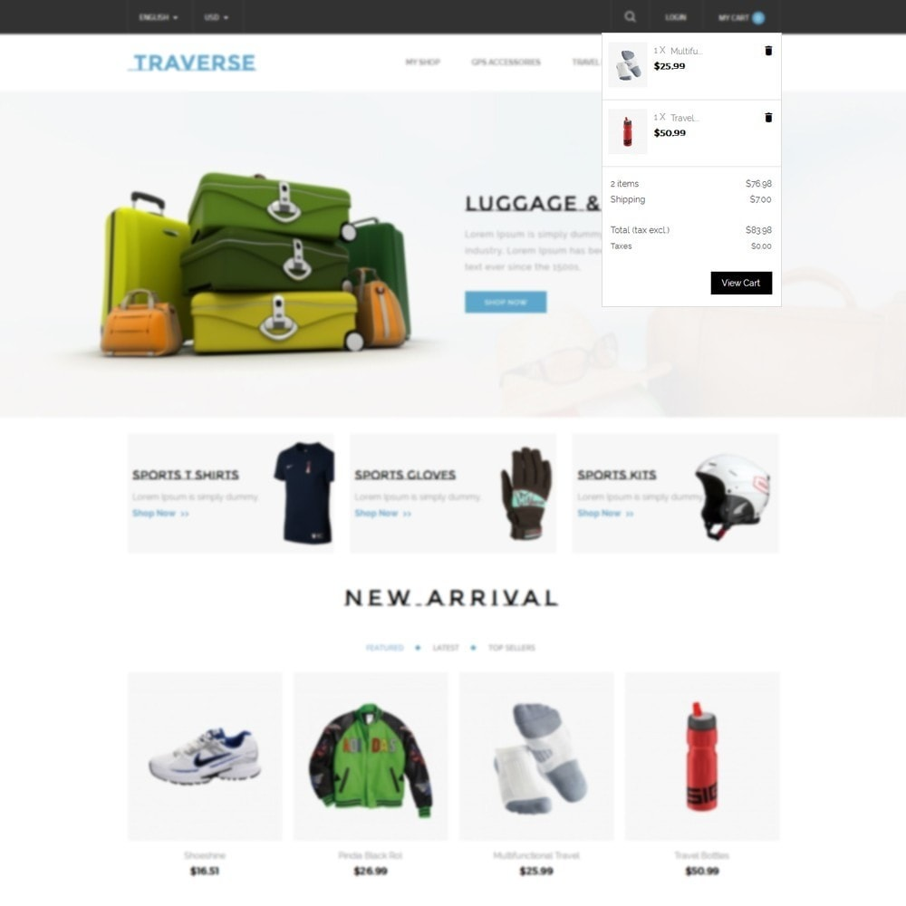 theme - Sports, Activities & Travel - Traverse Store - 6