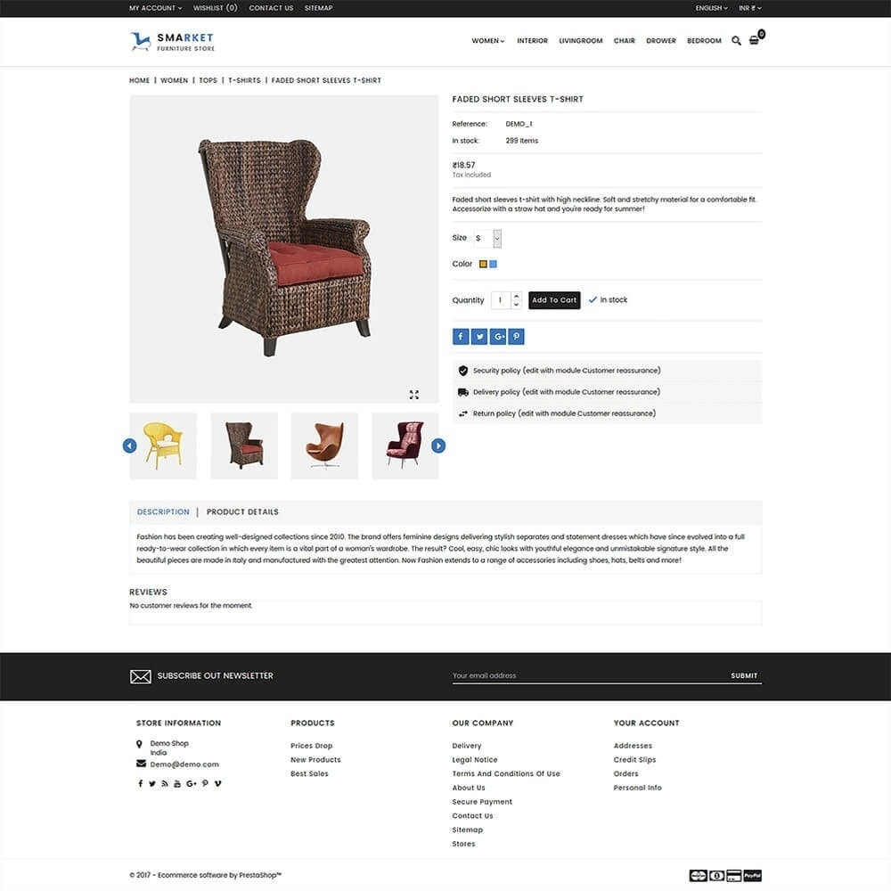 theme - Maison & Jardin - SMarket Furniture Store - 5