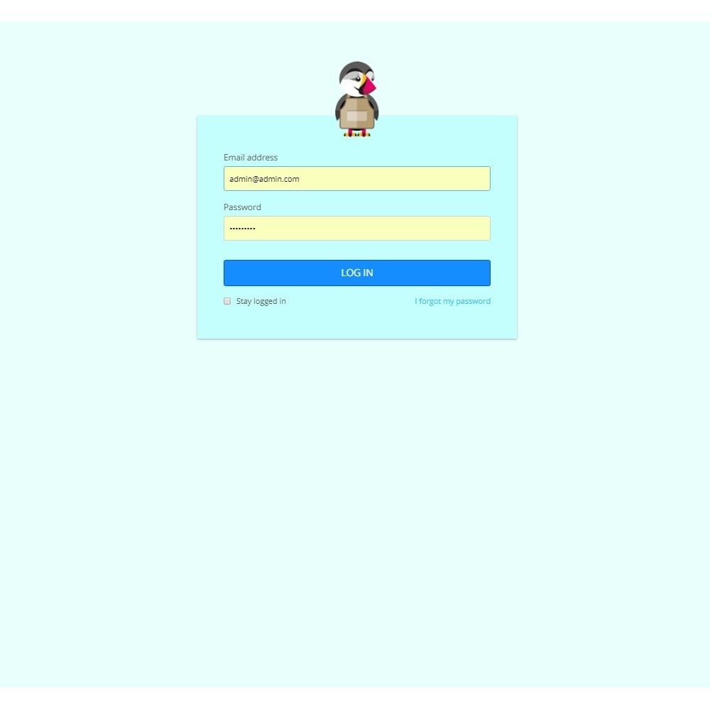 module - Personalizacja strony - Design Style for Admin Back Office and Login Page - 6